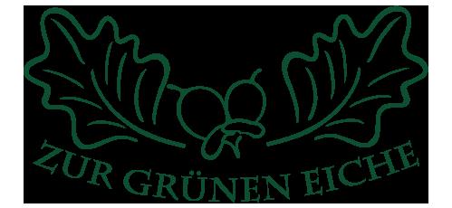 """Gasthaus und Pension """"Zur grünen Eiche"""" in Eichicht"""